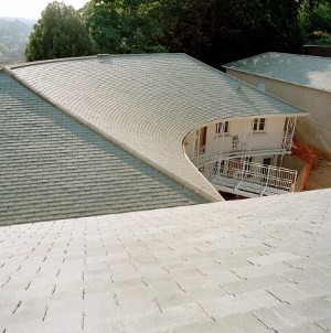 Stunning roof design with Riverstone