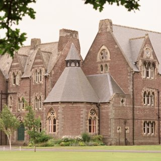 Christ College, Brecon, Wales, UK, Riverstone Slate