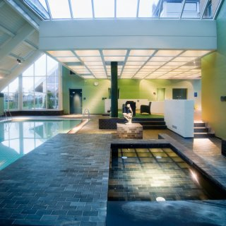 Swimming Pool and Spa Area, Denmark, Riverstone Architectural